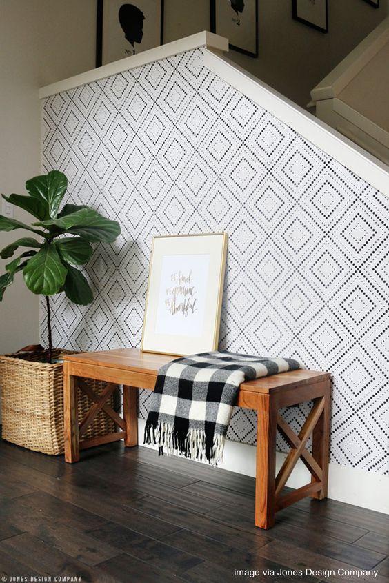 Jones Design Company wallpaper acent wall