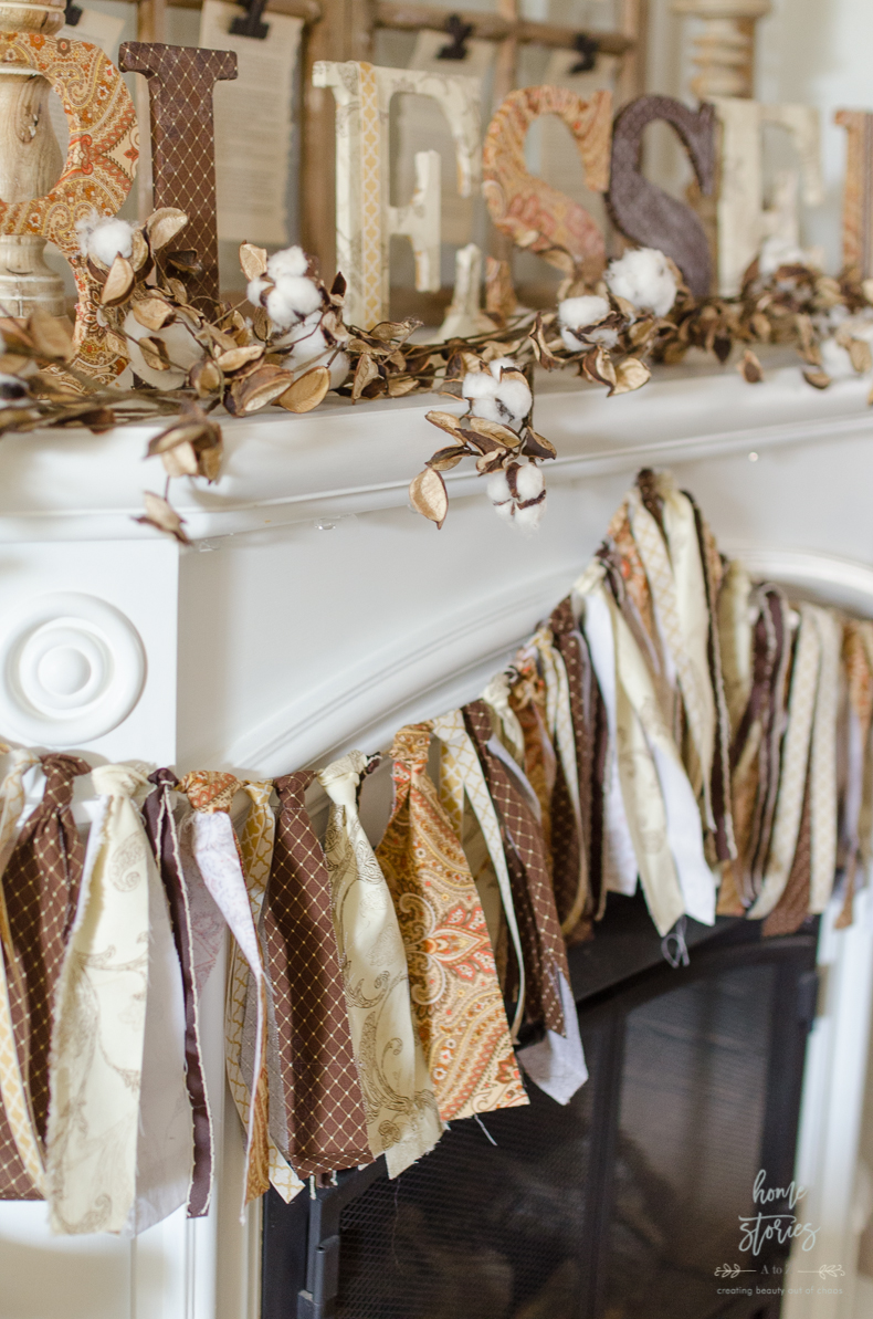 DIY Fabric Banner Homestories a to z